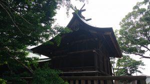 葛飾八幡宮 本殿