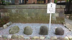 葛飾八幡宮 力石