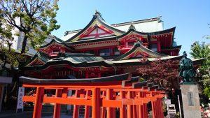 京濱伏見稲荷神社 拝殿