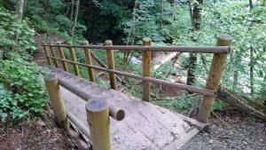 檜原村・九頭龍神社 九頭龍の滝階段