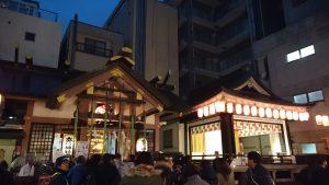 練馬大鳥神社 酉の市 社殿