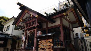 練馬大鳥神社 社殿