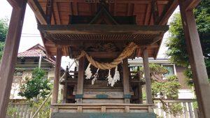 葛飾八幡宮 八坂社