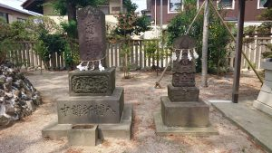 葛飾八幡宮 道祖神・青面金剛像
