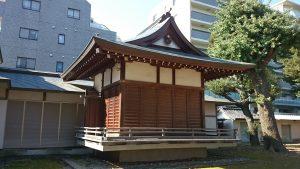 蓮根氷川神社 神楽殿