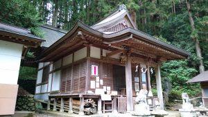 檜原村九頭龍神社 拝殿