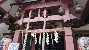 練馬大鳥神社 蟇股・木鼻彫刻
