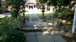 蓮根氷川神社 神橋