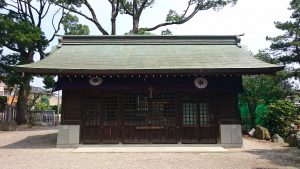 葛飾八幡宮 神輿庫