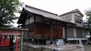 中村天祖神社 社殿
