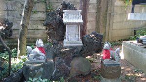 駒込日枝神社(朝日山王宮) 日吉稲荷神社 石祠
