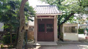 萩中神社 神輿庫