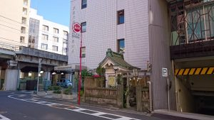 柳橋石塚稲荷神社 全景
