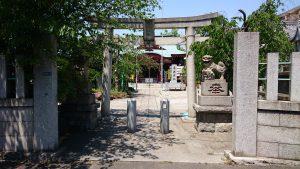 上千葉香取神社 二の鳥居