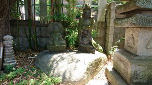 上千葉香取神社 地蔵菩薩座像・聖観音立像