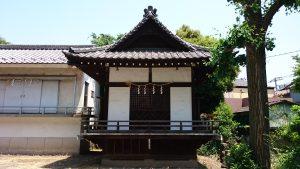 小谷野神社 神楽殿