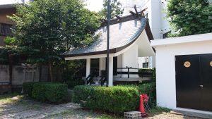 駒込日枝神社(朝日山王宮) 社殿