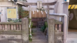 柳橋石塚稲荷神社 鳥居