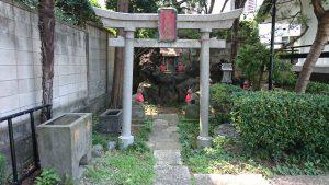 駒込日枝神社(朝日山王宮) 日吉稲荷神社 鳥居