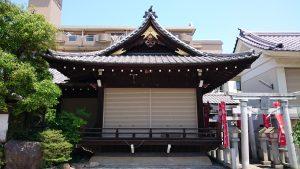 上千葉香取神社 神楽殿