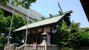 小菅神社 拝殿