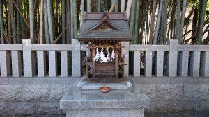 葛飾八幡宮 境外末社・不知森神社