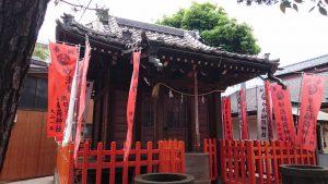妙法稲荷神社 社殿