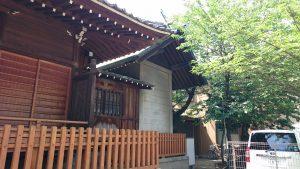萩中神社 本殿