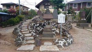 葛飾八幡宮 富士塚