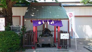 葛飾氷川神社 手水舎