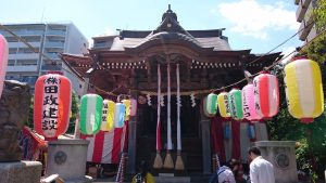 三輪厳嶋神社 祭礼日