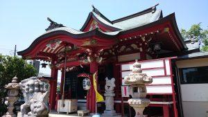 上千葉香取神社 拝殿