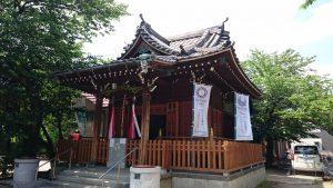 萩中神社 拝殿