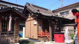 鴎稲荷神社 社殿