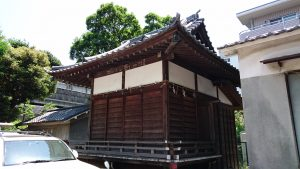 小菅神社 神楽殿