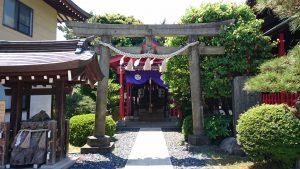 葛飾氷川神社 八王子神社 鳥居