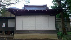 田柄愛宕神社 神楽殿