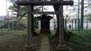 田柄愛宕神社 須賀神社 鳥居