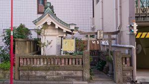 柳橋石塚稲荷神社 社殿