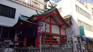 柳橋篠塚稲荷神社 社殿