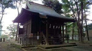 田柄愛宕神社 拝殿