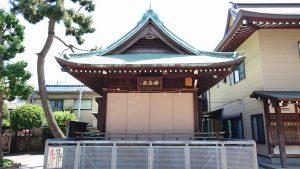 葛飾氷川神社 神楽殿