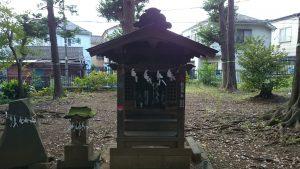 田柄愛宕神社 稲荷神社