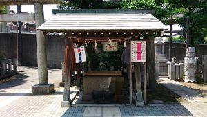 小菅神社 手水舎