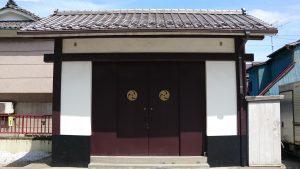 三輪厳嶋神社 神輿庫