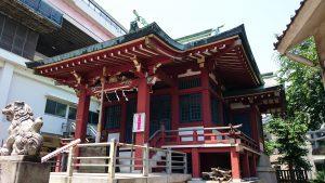 小谷野神社 拝殿