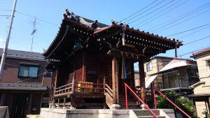 白魚稲荷神社 社殿
