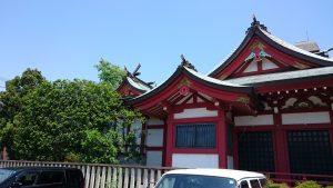 上千葉香取神社 幣殿・本殿