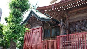 三輪厳嶋神社 本殿