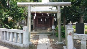 三王三柱神社 鳥居